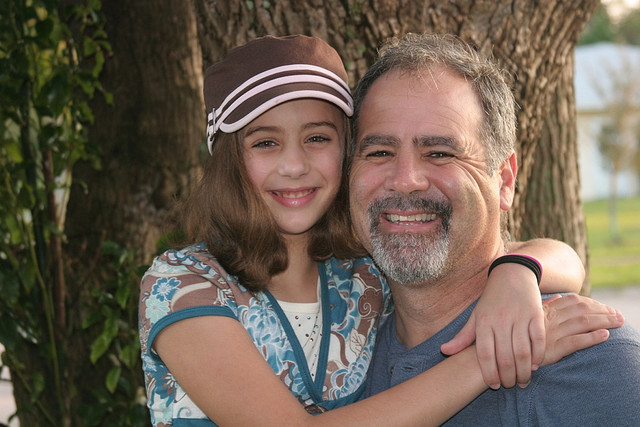 Carla and Dad