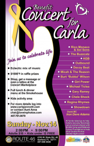 Concert for Carla